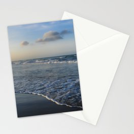 Summer sunset on the beach Stationery Cards