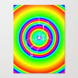 LSD rainbowdrops Canvas Print