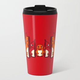 Poketryoshka - Fire Type Metal Travel Mug