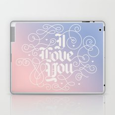 3 Little Words Laptop & iPad Skin