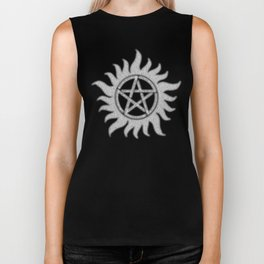 Carry On Supernatural Pentacle Biker Tank
