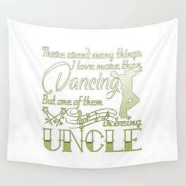 Dancing Uncle Wall Tapestry