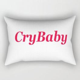 CryBaby Rectangular Pillow