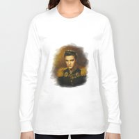 elvis presley Long Sleeve T-shirts featuring Elvis Presley - replaceface by replaceface