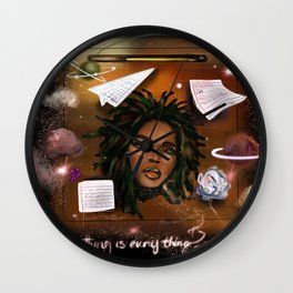 Let Me Be Patient Wall Clock