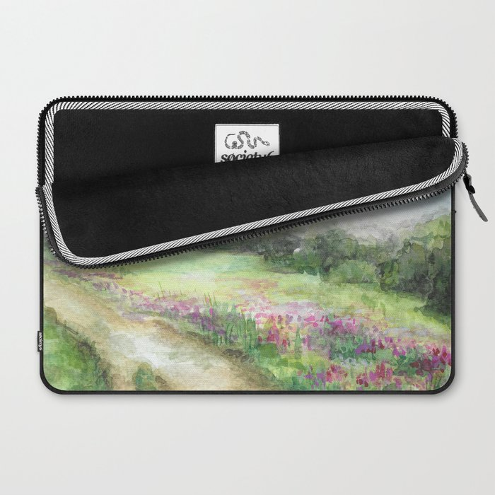 Willow-herb Laptop Sleeve