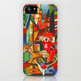 Heinrich Campendonk Bucolic Landscape iPhone Case
