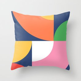 Abstract Geometric 17 Throw Pillow