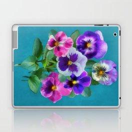 Bouquet of violets Laptop & iPad Skin