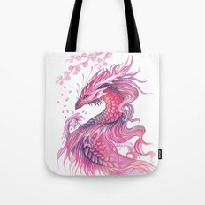 Wind of blossom Tote Bag
