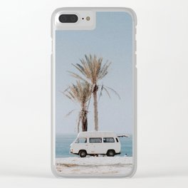 summer road trip Clear iPhone Case