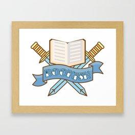 Slayer of TBR Piles Framed Art Print