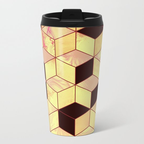 Geometrical Force #1 Metal Travel Mug