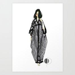 Her Kaftan Art Print