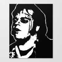 rocky horror picture show Canvas Prints featuring Eddie (Rocky Horror Picture Show) by Blake Lee Ferguson