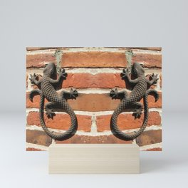 Wall Geckos Mini Art Print
