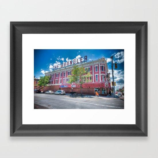 High Dynamic Range Imagery {HDR} Framed Art Print