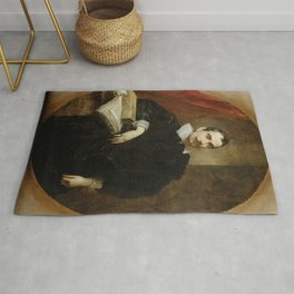 Anthony van Dyck - Portrait of Ottaviano Canevari Rug