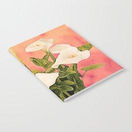 Monterey Calla Lilies Notebook