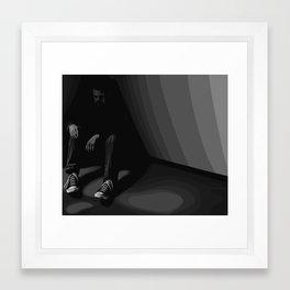 In The Corner Framed Art Print