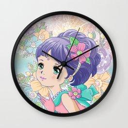 Pastel Lady Wall Clock