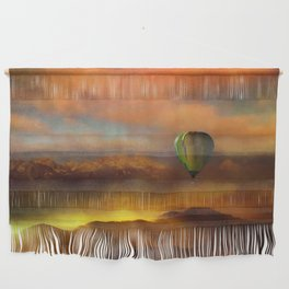 Sunset with Balloon Wall Hanging