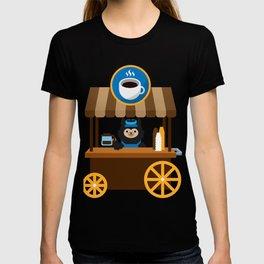 Alpaca Coffee Shop T-shirt