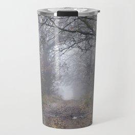 dirt and traces of car Travel Mug