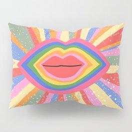 Lips Pillow Sham