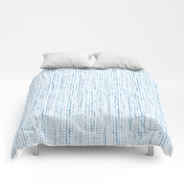 Blue Snake Texture Comforters