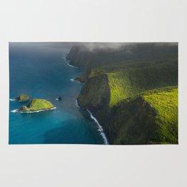 Beautiful island of Hawaii Rug