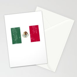 Mexico flag Mexican DNA Stationery Cards