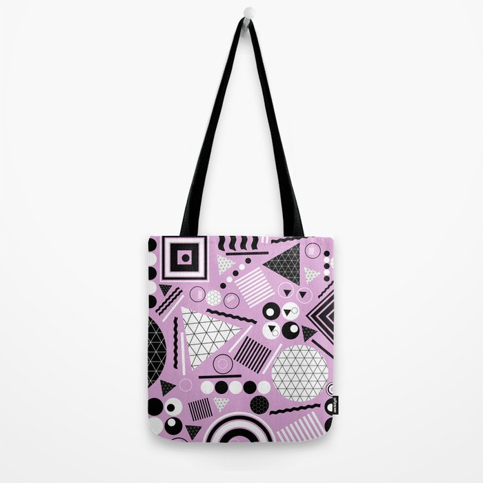 Busy Busy Busy Black And White! Tote Bag