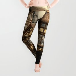 The Cross and Rows 1895 Leggings