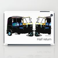 return iPad Cases featuring Half Return by The Real Veda