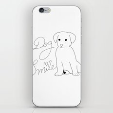 Dog Smile iPhone & iPod Skin