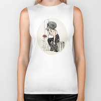 romantic Biker Tanks featuring Romantic by ValD