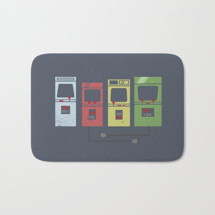 Arcade Machines Bath Mat