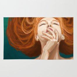 Red Head Rug
