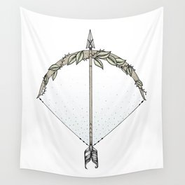 Bow and Arrow Wall Tapestry