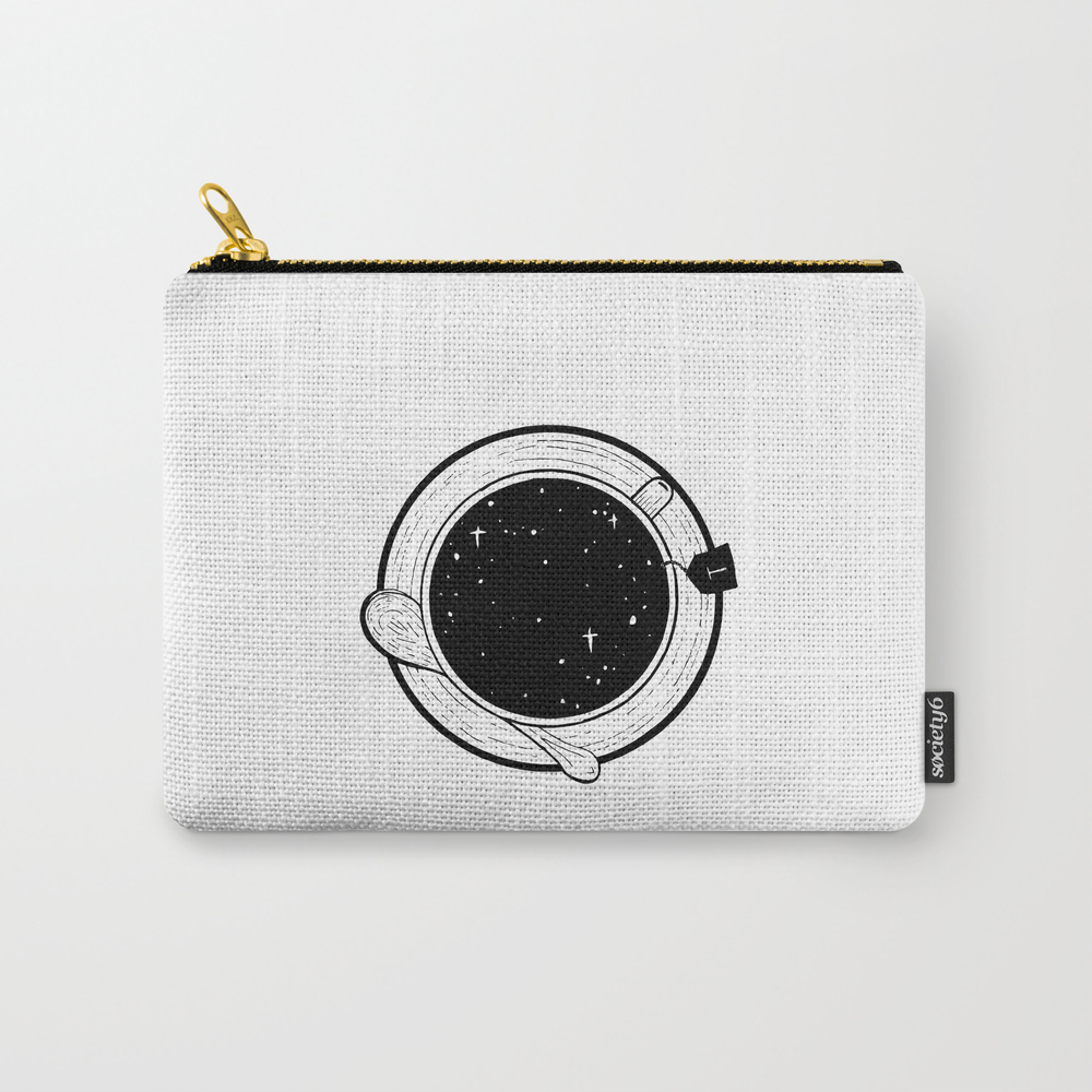 Storm In A Tea Cup Carry-all Pouch by Bukxa CAP8751401