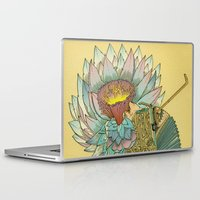 writer Laptop & iPad Skins featuring The Writer by Theo Szczepanski