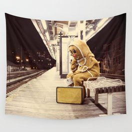 Gingerbread Man At Large Pt1 Wall Tapestry