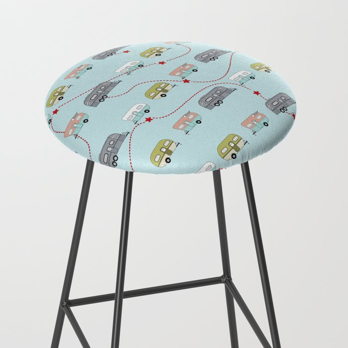 Get Your Kicks Bar Stool