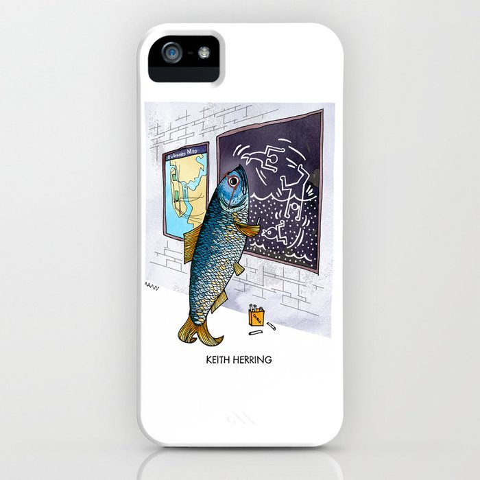 Keith Herring iPhone Case