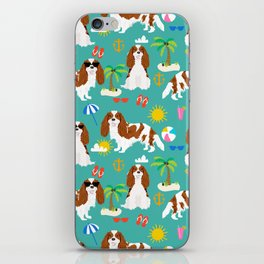Cavalier King Charles Spaniel beach day tropical vacation socal sunshine iPhone Skin