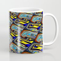 scales Mugs featuring Scales by David  Gough