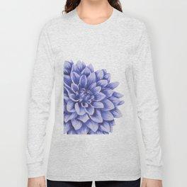 Big flower, purple chrysanthemum Long Sleeve T-shirt