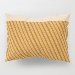 Fake diffused pine with light strawberry cream Pillow Sham