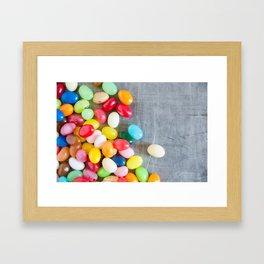 Jelly Beans 4 Framed Art Print